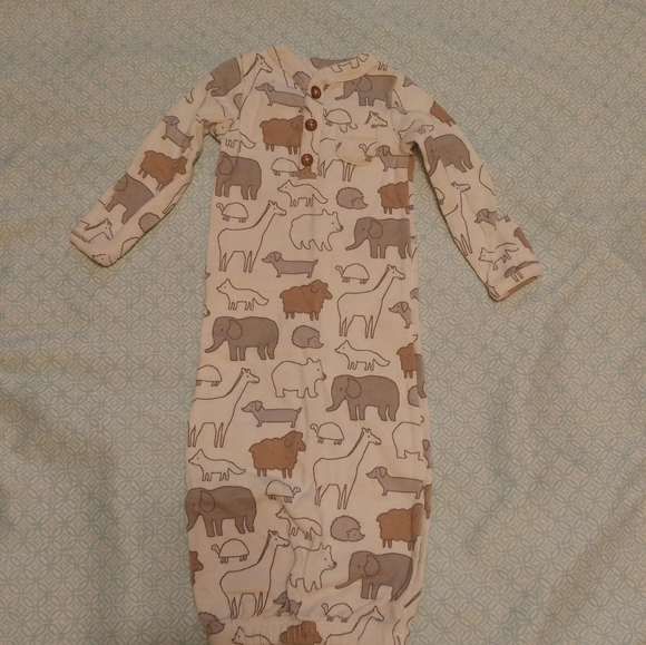 Baby Gowns Baby Sleeper 1 Pc Boy Night Gown Wearable Blanket Nightgown Layette Boys Blue
